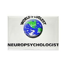 World's Coolest Neuropsychologist Rectangle Magnet