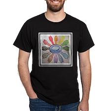 12x12 sporks in the round T-Shirt