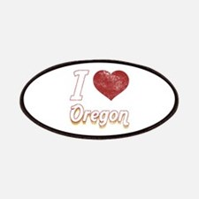 I Love Oregon (Vintage) Patches