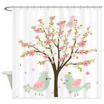 Cherry Blossom Tree Shower Curtain