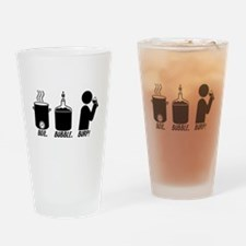 Boil. Bubble. Burp! Drinking Glass