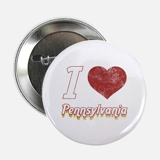 "I Love Pennsylvania (Vintage) 2.25"" Button"