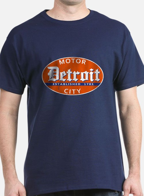 Detroit michigan t shirts shirts tees custom detroit for Michigan state t shirts vintage