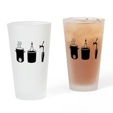 Homebrew Logo Drinking Glass