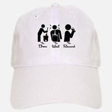 The Steps of Homebrewing Baseball Baseball Baseball Cap