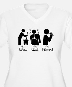 The Steps of Homebrewing Plus Size T-Shirt