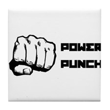 Power Punch Tile Coaster