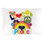 Love and Peace Pillow Case