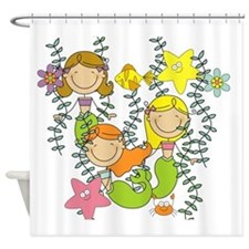 Mermaid Party Shower Curtain