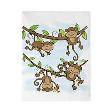 Monkey Shine Twin Duvet