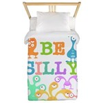 Silly Monsters Twin Duvet