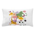 Animal Menagerie Pillow Case