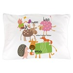 Silly Animals Pillow Case