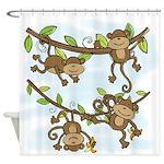 Monkey Shine Shower Curtain