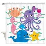 Undersea Adventure Shower Curtain