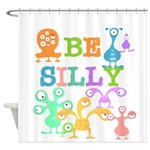 Silly Monsters Shower Curtain