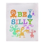 Silly Monsters Throw Blanket