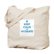 Keep calm and hydrate Tote Bag