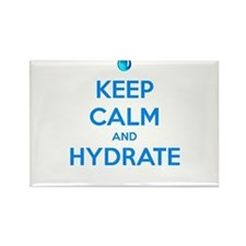 Keep calm and hydrate Rectangle Magnet