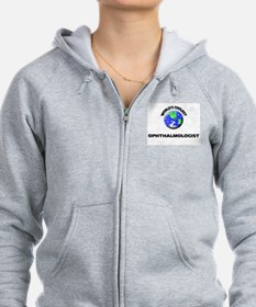 World's Coolest Ophthalmologist Zip Hoodie