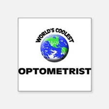 World's Coolest Optometrist Sticker