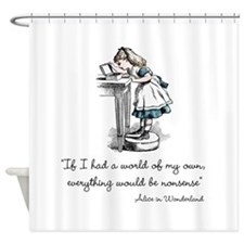 Nonsense Shower Curtain