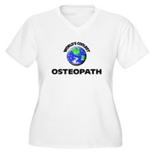 World's Coolest Osteopath Plus Size T-Shirt