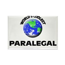 World's Coolest Paralegal Rectangle Magnet
