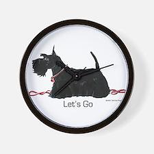 Scottie Let's Go! Wall Clock