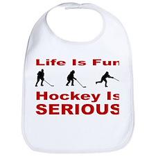 Hockey is Serious Bib