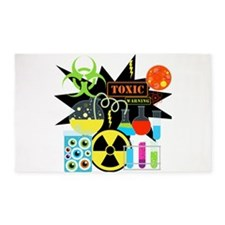 Mad Scientist 3'x5' Area Rug