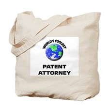 World's Coolest Patent Attorney Tote Bag