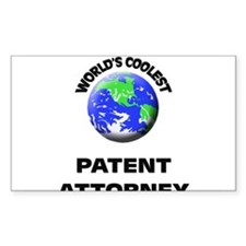 World's Coolest Patent Attorney Decal