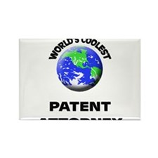 World's Coolest Patent Attorney Rectangle Magnet