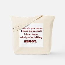 Canadian Talk Tote Bag