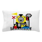Trains Pillow Case