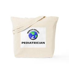 World's Coolest Pediatrician Tote Bag