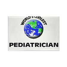 World's Coolest Pediatrician Rectangle Magnet