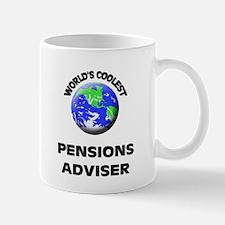 World's Coolest Pensions Adviser Mug