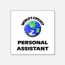 World's Coolest Personal Assistant Sticker