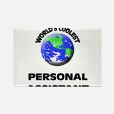 World's Coolest Personal Assistant Rectangle Magne