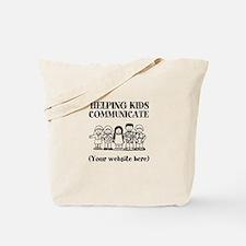 Helping Kids Communicate Tote Bag
