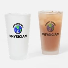 World's Coolest Physician Drinking Glass