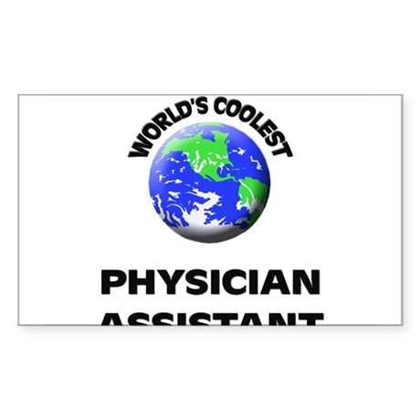 World's Coolest Physician Assistant Sticker