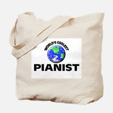 World's Coolest Pianist Tote Bag