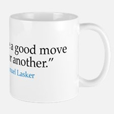 Mug - Chess master E. Lasker quote