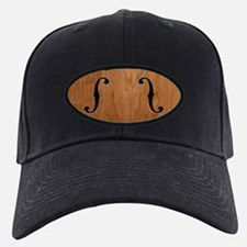 F-Holes Woodgrain Baseball Hat