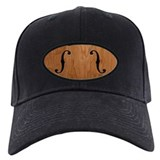 Fiddle Baseball Cap with Patch