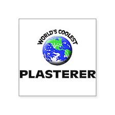 World's Coolest Plasterer Sticker