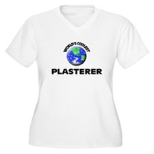 World's Coolest Plasterer Plus Size T-Shirt